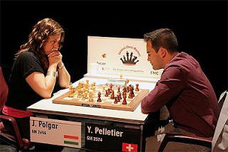 Echecs à Genève : la meilleure joueuse du monde Judit Polgar