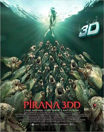 Pirana 3DD Brrip Film Tek Link Afis