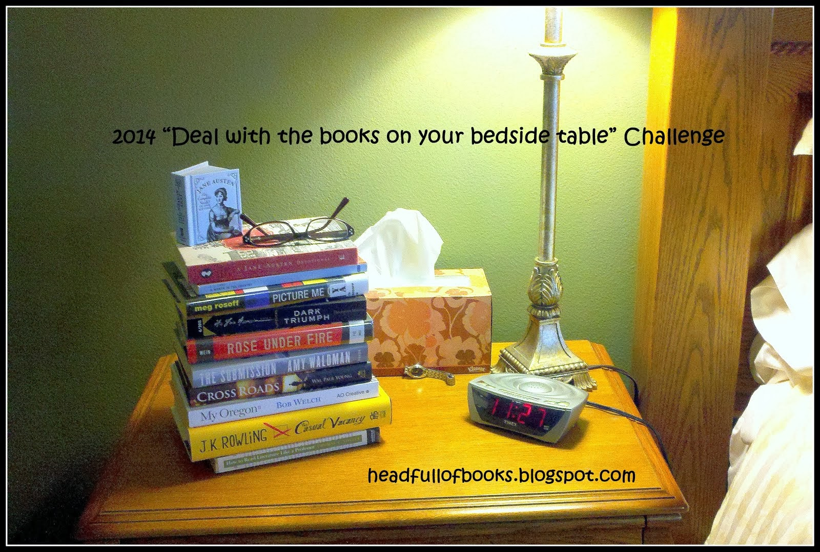 "2014 ""Deal with the books on your bedside table"" Challenge"