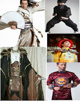 customes of old chinese kung fu masters