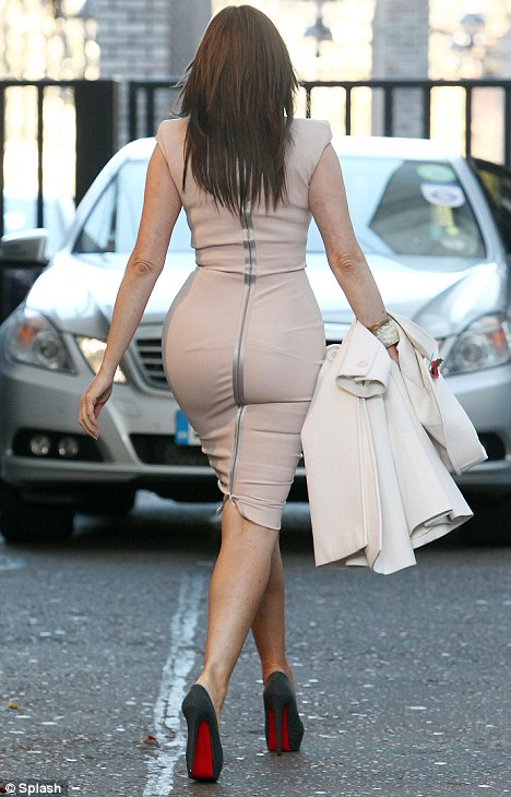 Rear Of The Year: Carol beat Pippa Middleton to take the prestigious ...