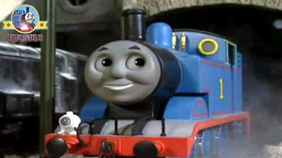 Well done Thomas boomed Sir Topham Hatt to the rescue diesel railway train friends and saved the day