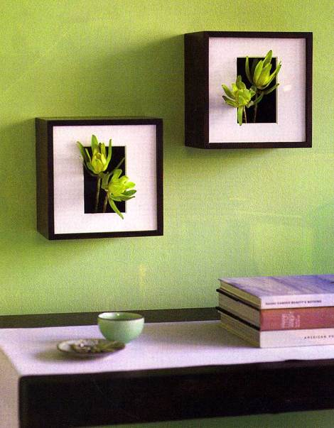 Wall Decor Green : Home wall decor ideas