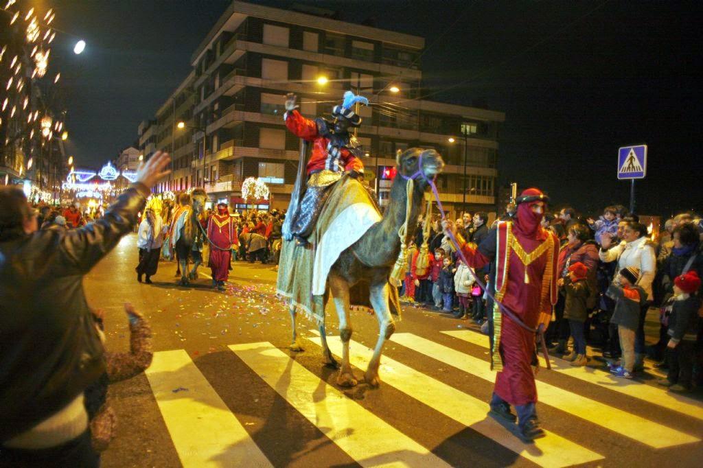 Cabalgata del príncipe Aliatar en El Berrón, Asturias