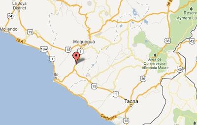 temblor hoy en perú en moquegua 22 setiembre 2012