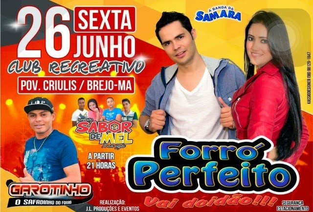 FORRÓ PERFEITO/BREJO-MA