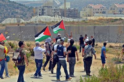 A resistência popular palestina e as delegações internacionais