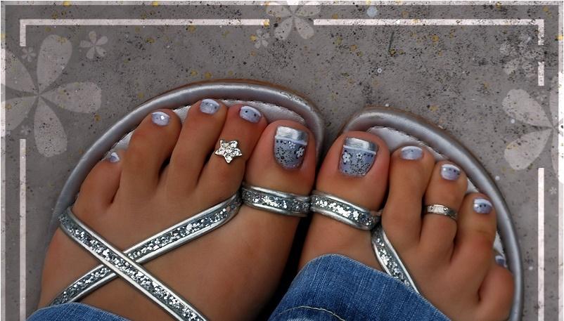 Como pintar las u as de mis pies 2016 2017 decoraciones - Decoraciones para las unas ...