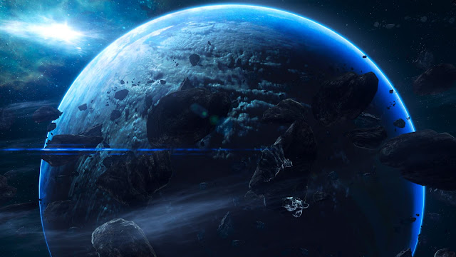 halo,art,planet,space