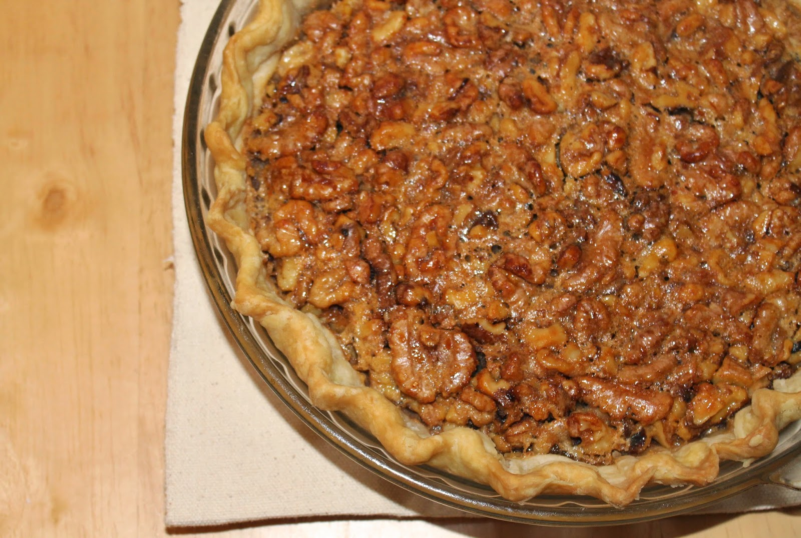 Savory Moments: Honey walnut pie