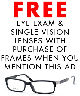 Eye exam discounts and coupons