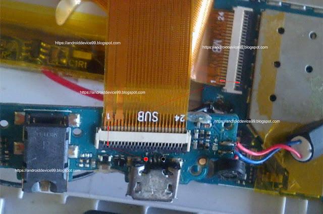 Trick Jumper Jalur Konektor USB Charger Advan T5A
