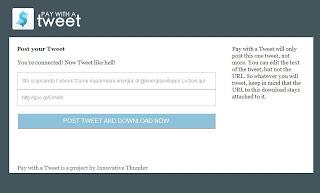 scaricare tweet twitter