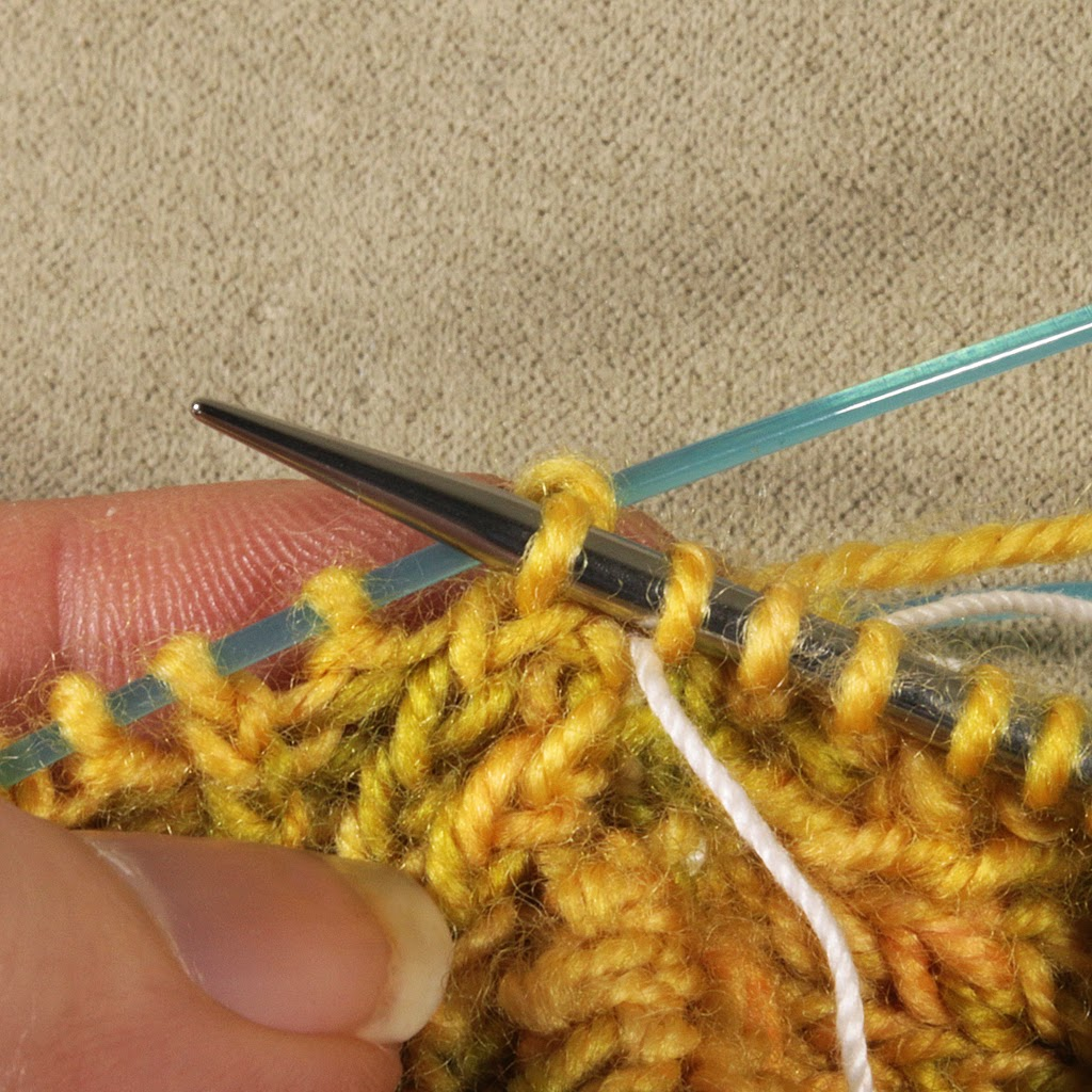 Prairie Willow Knits: Closing the Gusset Corner Gap with a K2Tog TBL Pickup