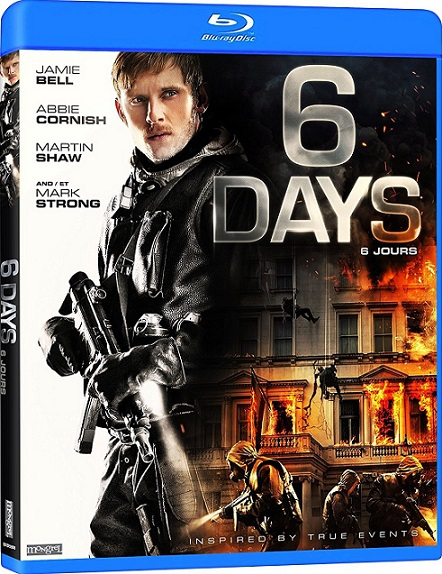 6 Days (2017) 720p y 1080p BDRip mkv Dual Audio AC3 5.1 ch