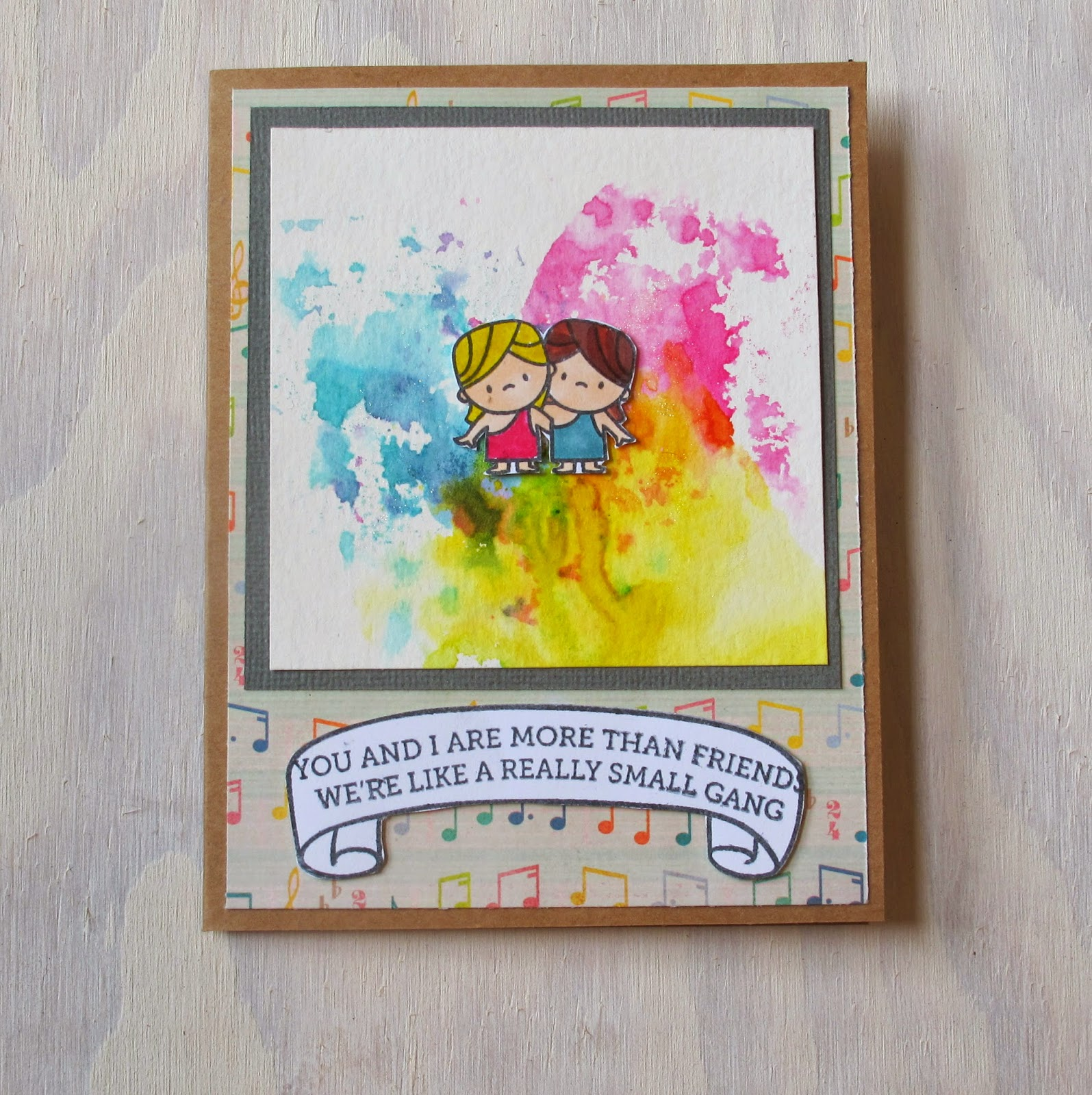 Siblings Day Card Handmade