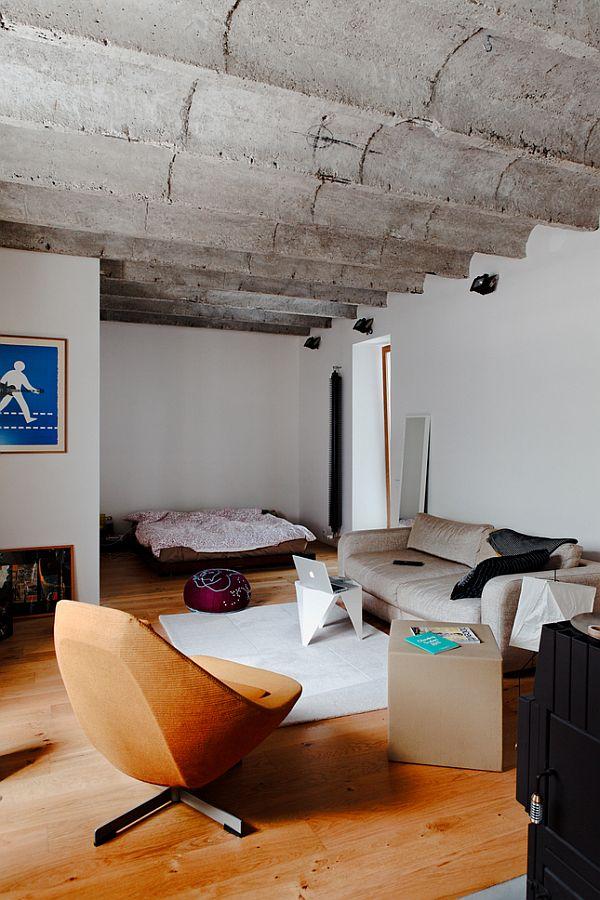Pequeno apartamento decorado ideias decora o mobili rio - Loft pequeno ...