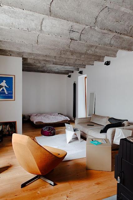Pequeno apartamento decorado