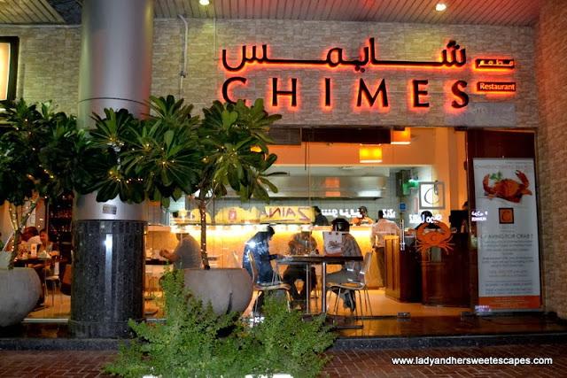 Chimes Restaurant in Al Barsha Dubai