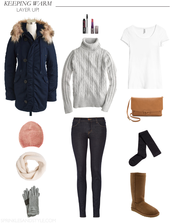 Layer Up to Keep Warm! || Sprinkles and Style