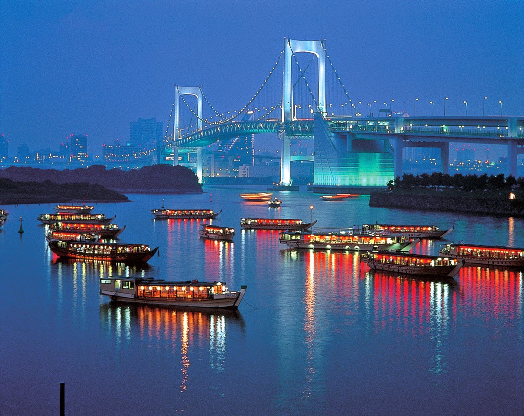 Unique Japan Tours Honeymoon Yakatabune Rainbow Bridge