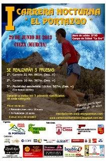 """Carrera Nocturna por Montaña """"El Portazgo"""""""