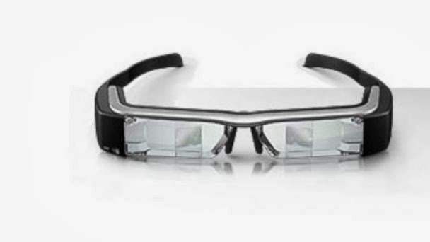 Moverio BT-200, google glass, Epson glass, Ces 2014