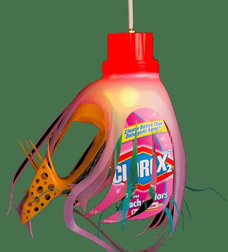 Kreasi Unik dari Botol Detergen