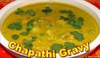 Chapathi Side dish Gravy/Kurma Recipe in Tamil