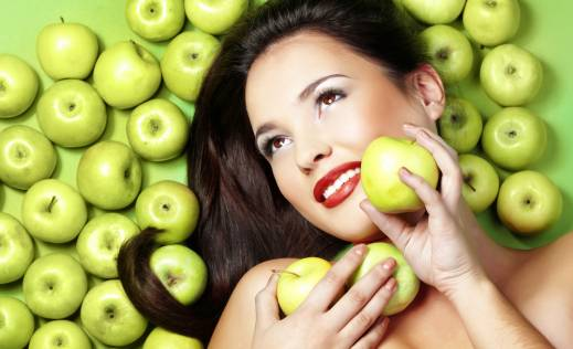 Apple facial