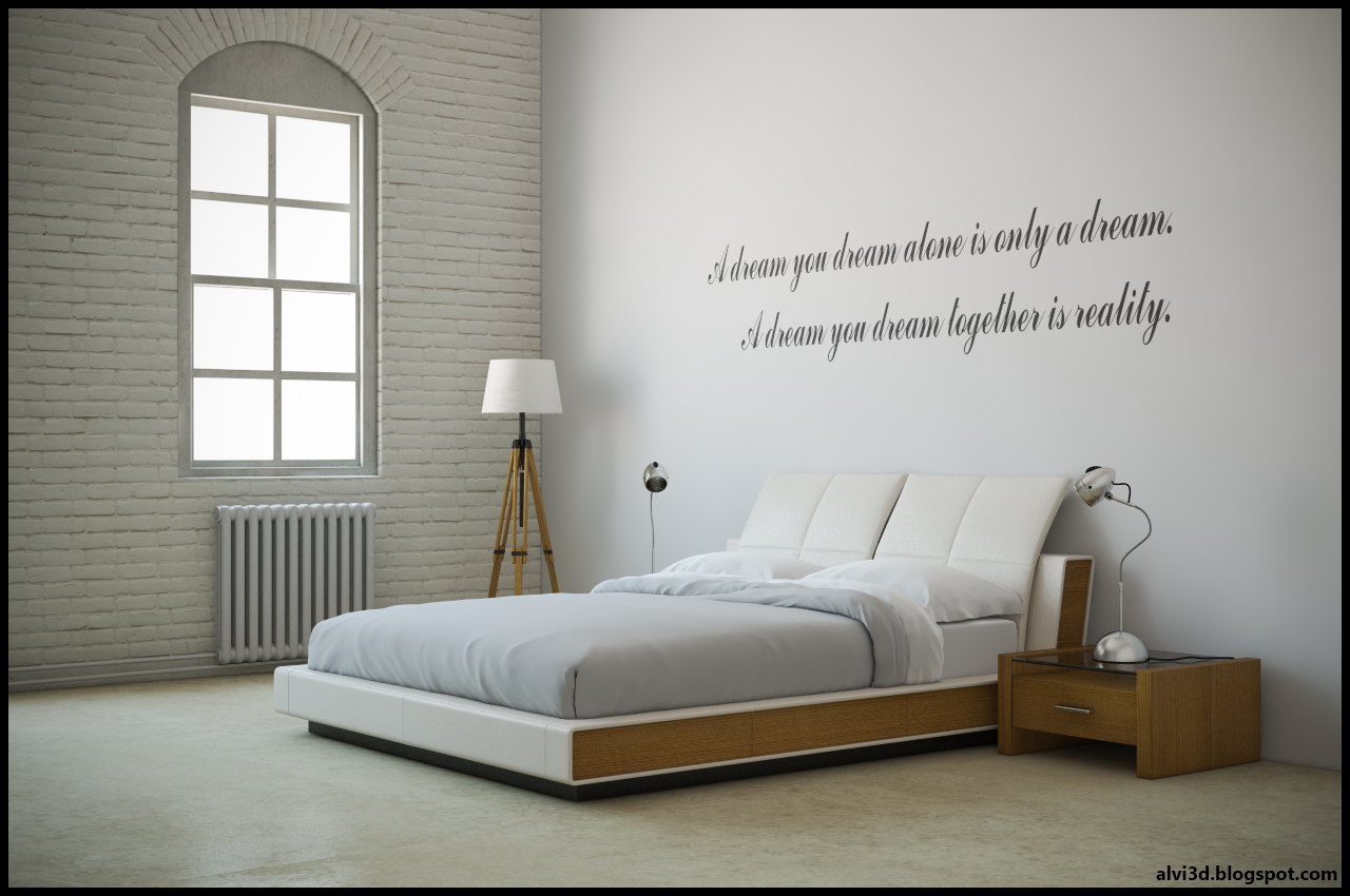 Dormitorio loft alvi jimgo dise o 3d en zaragoza for Diseno interiores zaragoza