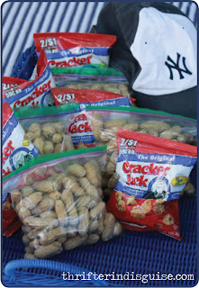 Affording a Yankee Game Food