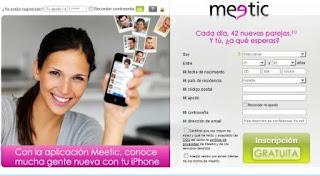 ab61633e6fe87 Para disfrutar del registro gratuito en Meetic España has de darte de alta  con tu pseudónimo y tu e-mail (no se le enseña a los demás usuarios).