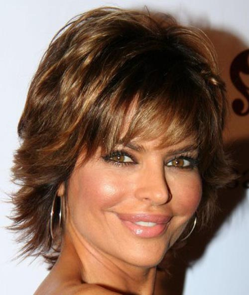 short hair styles for women over 50 round face. hairstyles for round faces