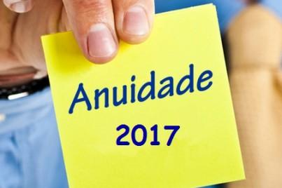 ANUIDADE 2017