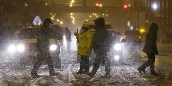 Wow ! Suhu Di Amerika Mencapai Minus 50 Derajat