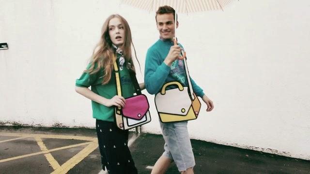 borse jumpforpaper jumpforpaper bag fashion blogger italiane colorblock by felym blog di moda di mariafelicia magno borse che sembrano disegnate borse che sembrano cartoni animati mariafelicia magno blogger di colorblock by felym