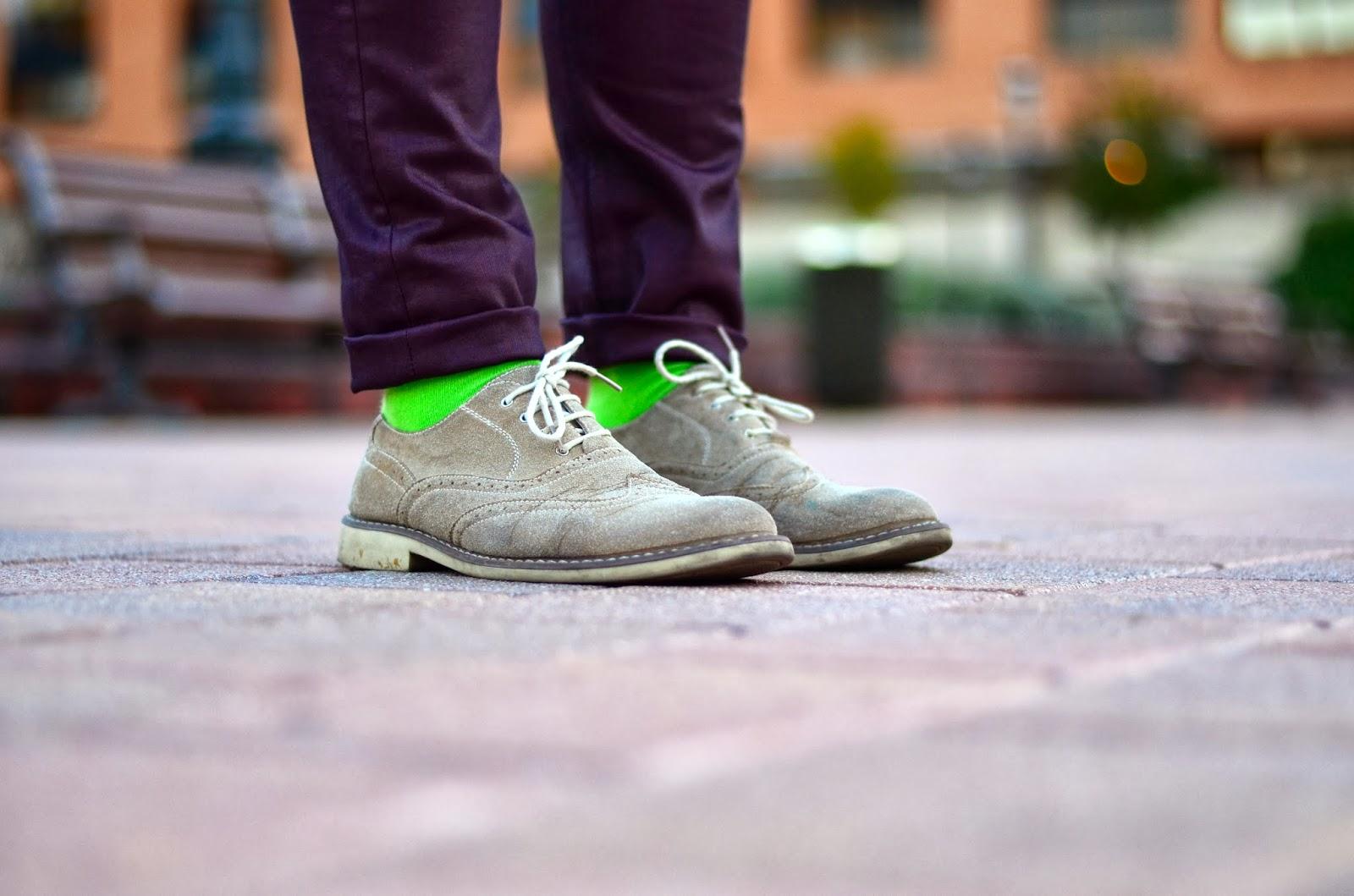 foto calcetines verdes menta