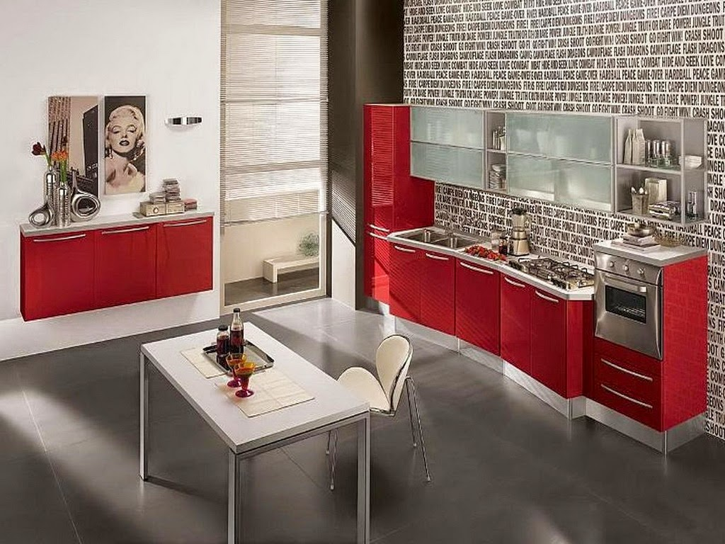 cat warna untuk dapur rumah minimalis