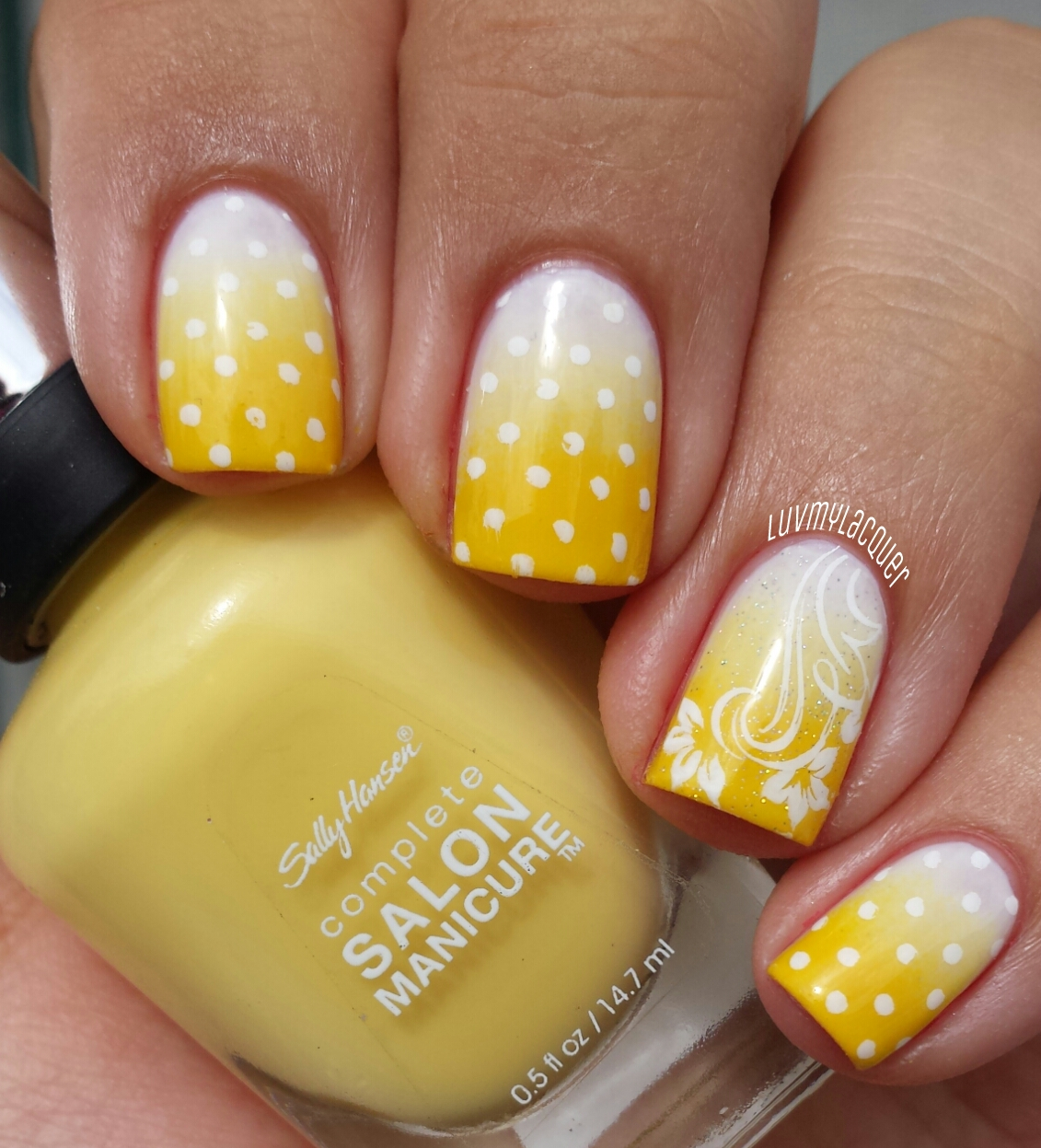 LuvMyLacquer: 31DC2013 Day 3 - Yellow Nails