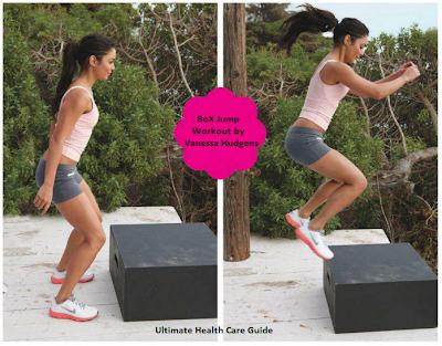Box Jump Workout By Vanessa