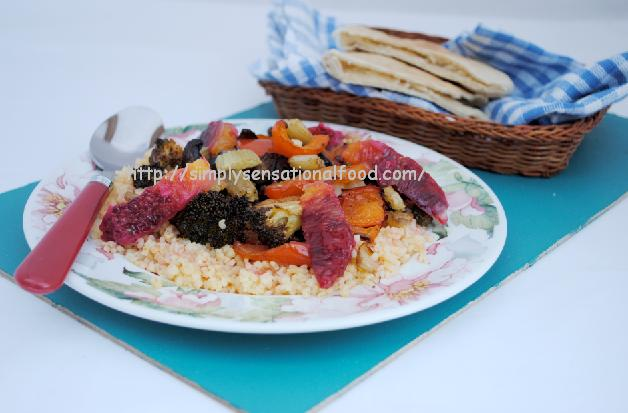 Hot Roasted Vegetables With Couscous Recipes — Dishmaps