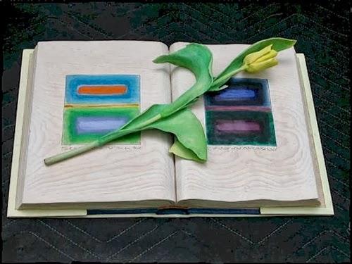 05-Flower-Book-Hyper-Realistic-Wood-Sculptures-Artist-Randall-Rosenthal-www-designstack-co