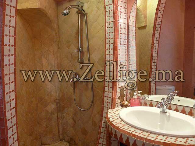 zellige salle de bain moderne salle du bain hammam marocain moderne et traditionnel 2013 - Salle De Bain Marocaine Moderne