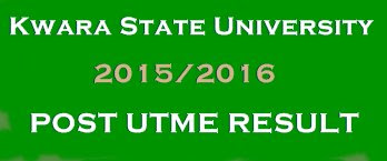 Kwara State University (KWASU) 2015/2016 Post UTME Result
