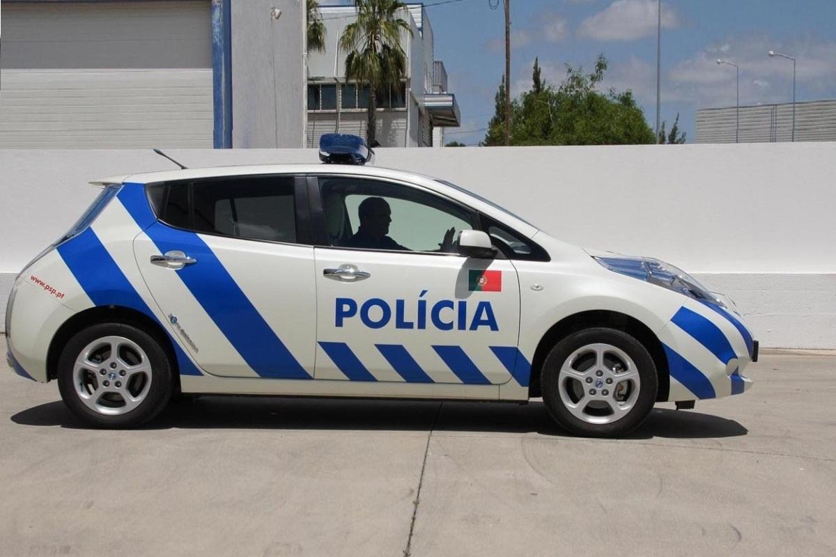 Nissan LEAF Mobil Polisi