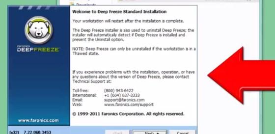 free download deep freeze 7.21 full version