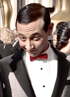 Paul Reubens (aka Pee-wee Herman) at 60th Annual Academy Awards, Apr 11, 1988 (photo by Alan Light, 1988, used with permission)