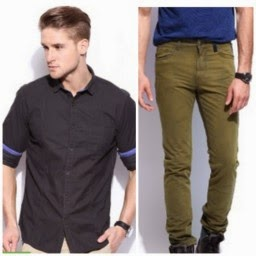 Flipkart : Buy Men's Clothing at Min 50 % deiscount