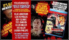 WINNERS OF THE WARNER BROS PCASUK CURSE OF FRANKENSTEIN BLU RAY COMPETITION DEC 2020